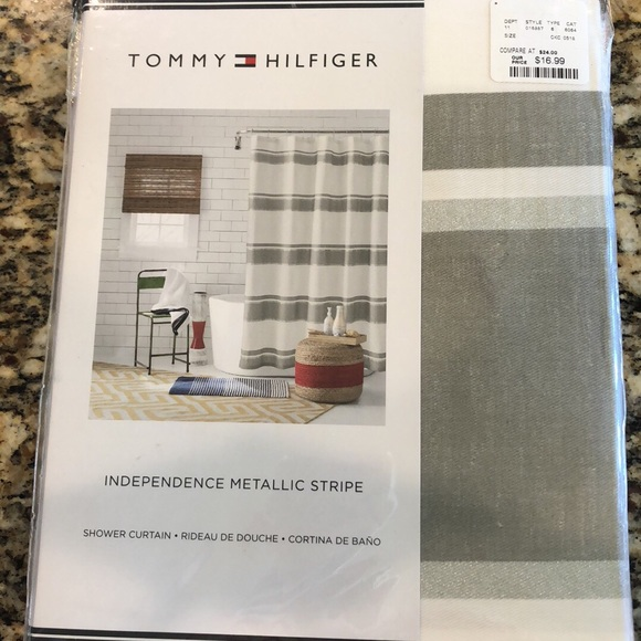 Tommy Hilfiger Other | Shower Curtain | Poshmark